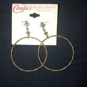 Candie's earrings